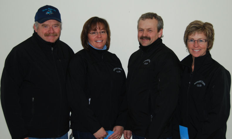 Larry Dewar rink 2009 PEI Mixed Runners-up