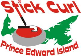 Stick Curling PEI Logo