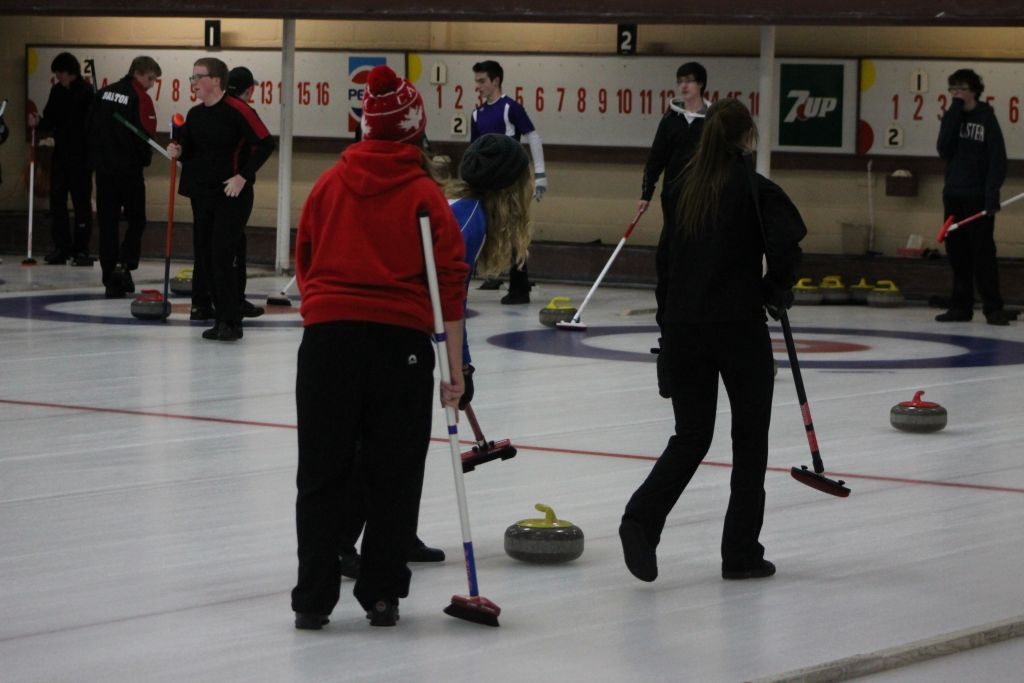 Bringing back high school curling