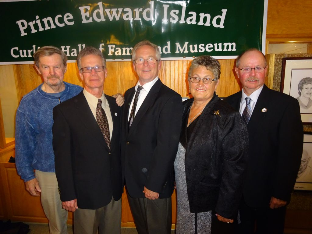 PEI Curling Hall of Fame inducts 5 new members