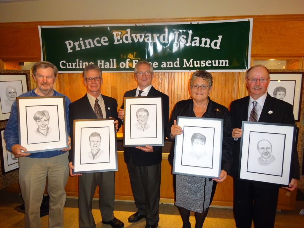 Photo gallery from PEI Curling Hall of Fame Induction Ceremony