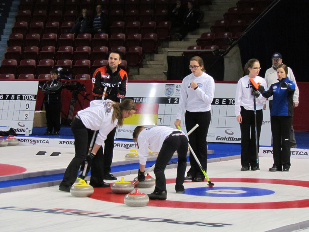 PEI Canada Games Training Teams take part in Junior Grand Slam of Curling (photo gallery)