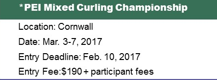 PEI Mixed (Fours) Ch'ship @ Cornwall Curling Club | Saint Catherines | Prince Edward Island | Canada