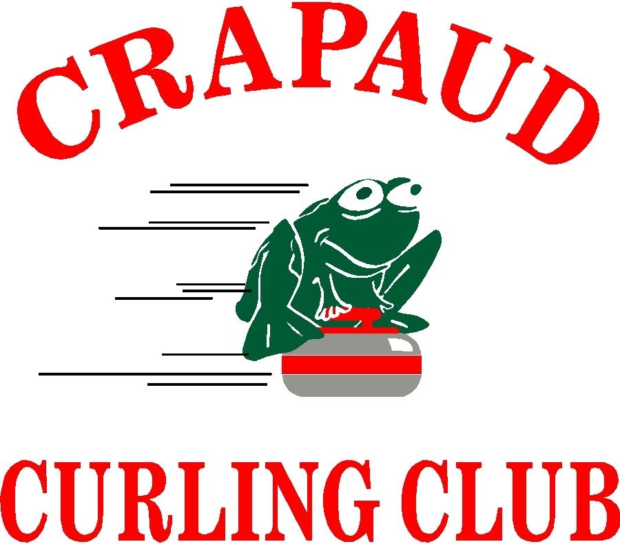 Crapaud Curling Club Frog