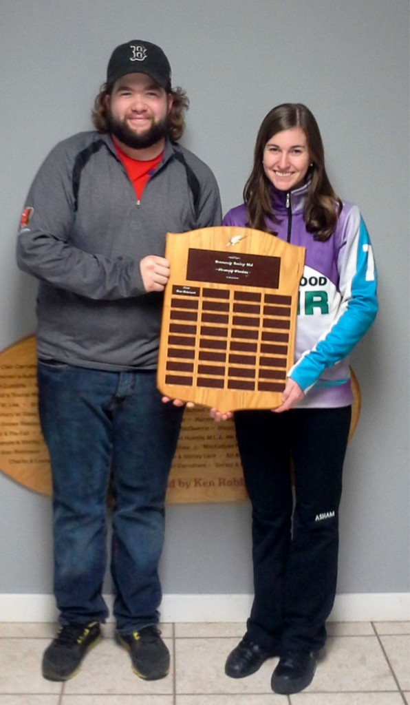 Kyle Holland and Cornwall's Katie Fullerton win PEI's 1st Mixed Doubles Trials (pictures added)