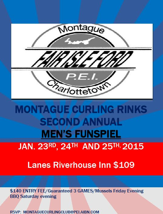 Fair Isle Ford Men's Funspiel @ Montague Curling Rink