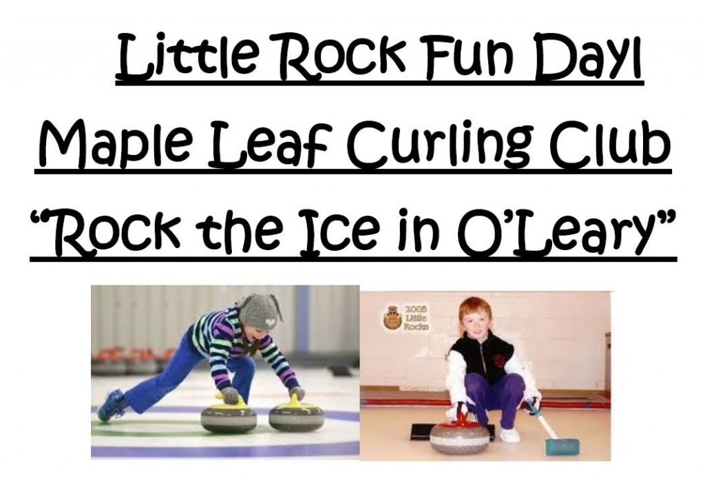 Rock the Ice Little Rocks Modified Spiel / Fun Day @ Maple Leaf Curling Club | O'Leary | Prince Edward Island | Canada