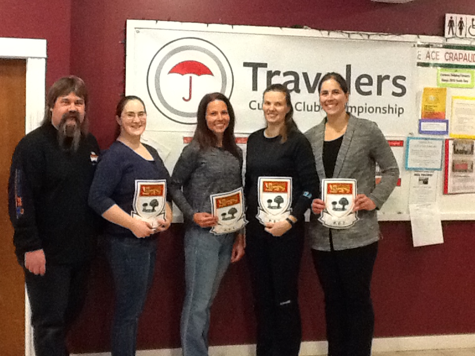 Cornwall's Jackson rink wins Travelers' women's title, Western Community's Fraser foursome takes men's (pictures added)