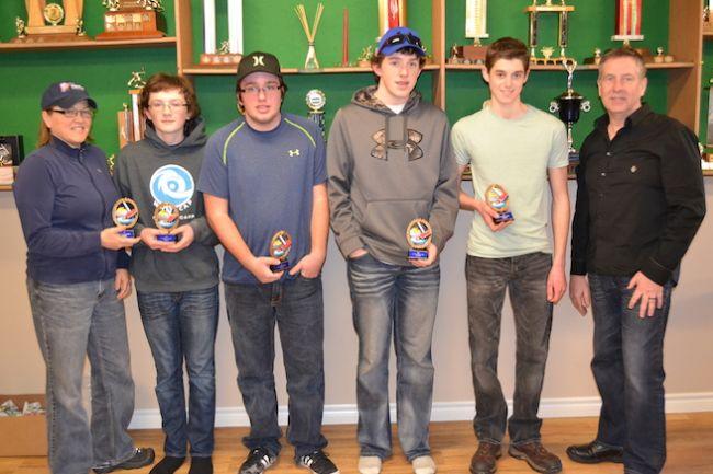 Cornwall skips earn Sportsmanship awards at U16 closing ceremonies
