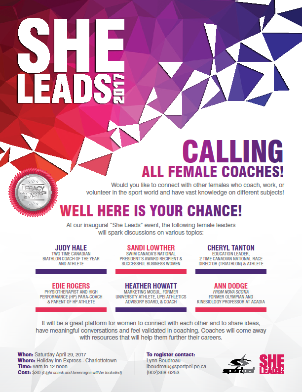 "Inaugural ""She Leads"" event @ Holiday Inn Express 