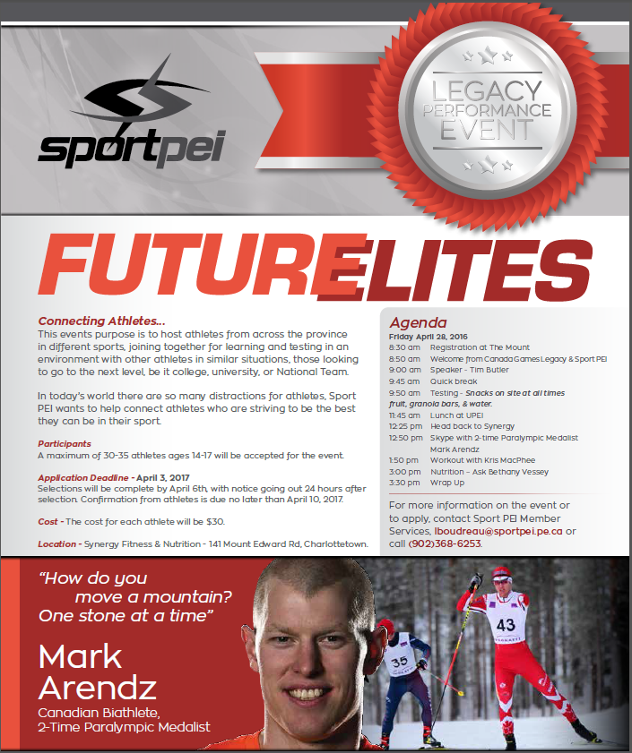 Future Elites @ Synergy Fitness | Charlottetown | Prince Edward Island | Canada