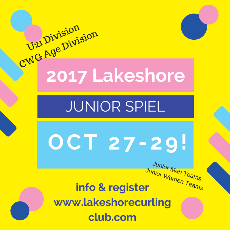 Lakeshore Cashspiel U21 & CWG-age Spiel @ Lakeshore Curling Club | Lower Sackville | Nova Scotia | Canada