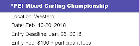 PEI Mixed Entry Deadline @ Western Community Curling Club | Alberton | Prince Edward Island | Canada