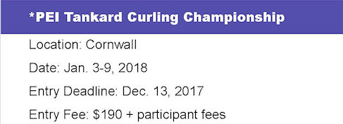 Tankard PEI Men's Ch'ship @ Cornwall Curling Club