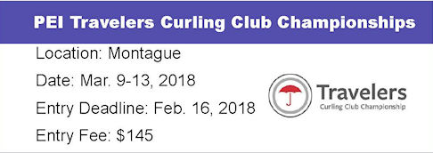 PEI Travelers Curling Club Ch'ships @ Montague Curling Rink | Montague | Prince Edward Island | Canada