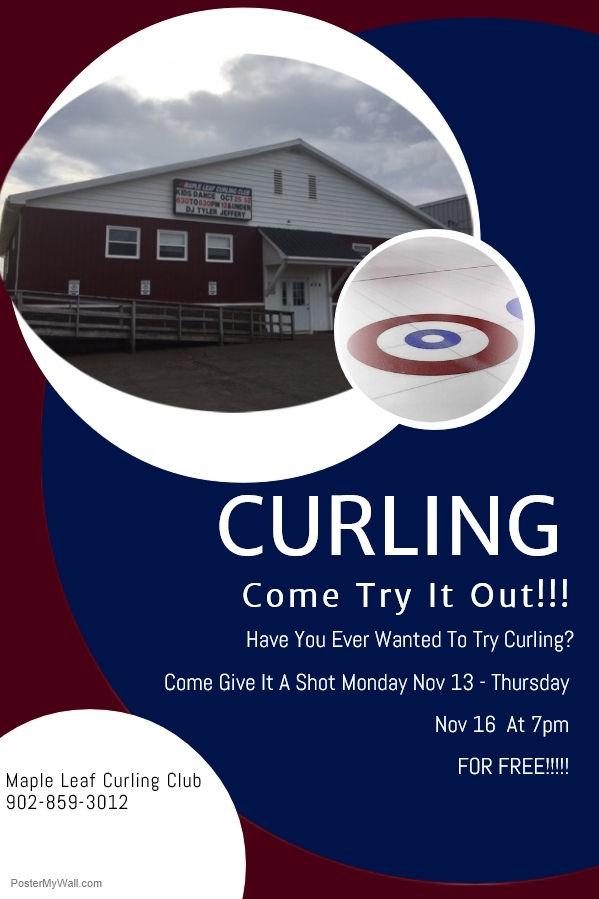 Free Try Curling drop-in nights @ Maple Leaf Curling Club