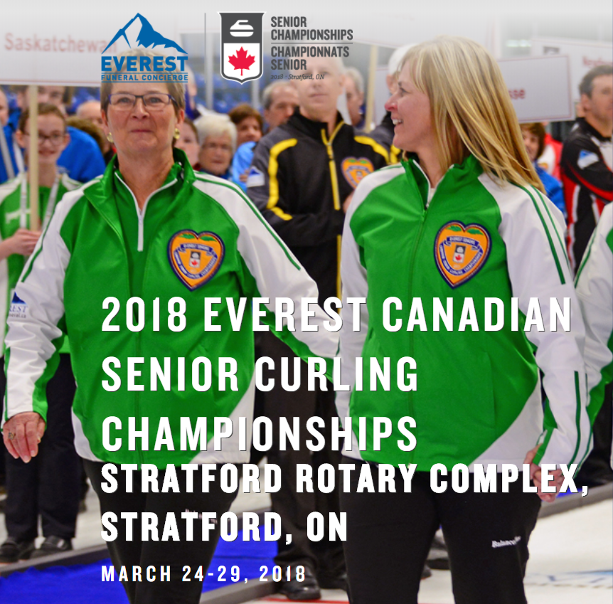 Everest Canadian Senior Curling Ch'ships @ Stratford Rotary Complex | Stratford | Ontario | Canada