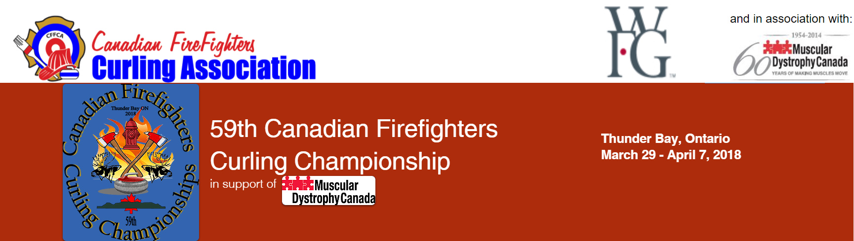 Canadian Firefighters Curling Ch'ship Results @ Port Arthur Curling Club | Thunder Bay | Ontario | Canada