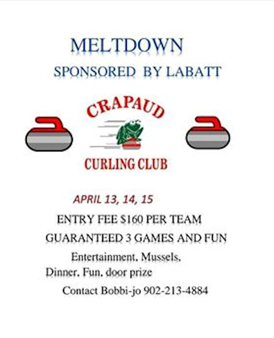 Meltdown Funspiel @ Crapaud Community Curling Club