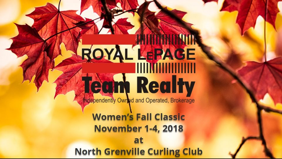 Royal LePage Women's Fall Classic in Ontario @ North Grenville Curling Club | Kemptville | Ontario | Canada