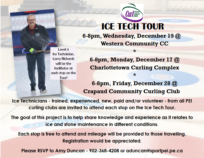 Curl PEI Ice Tech Tour - Stop Three @ Crapaud Community Curling Club | Crapaud | Prince Edward Island | Canada