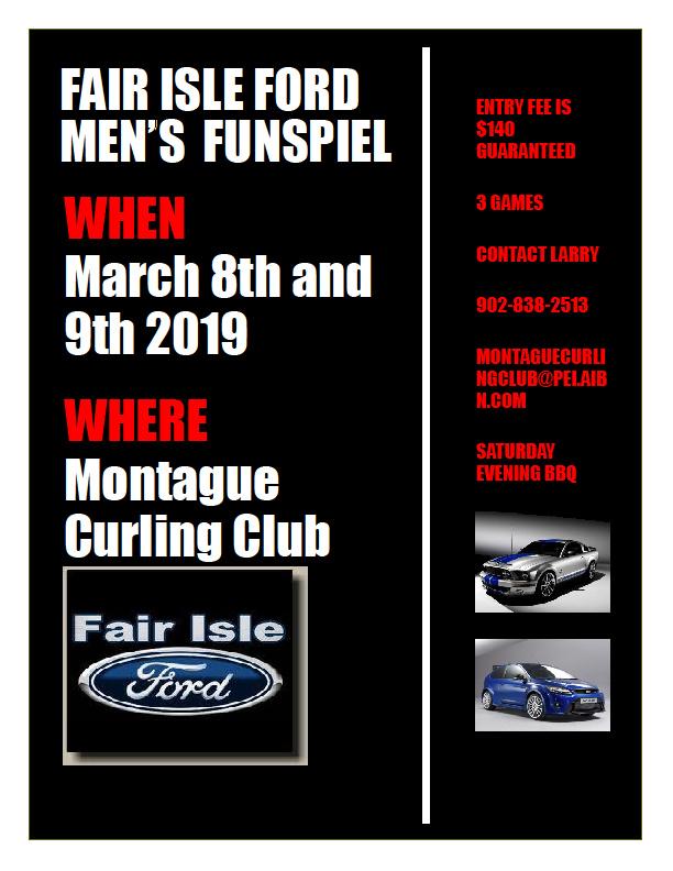 Fair Isle Ford Men's Funspiel @ Montague Curling Rink | Halifax | Nova Scotia | Canada