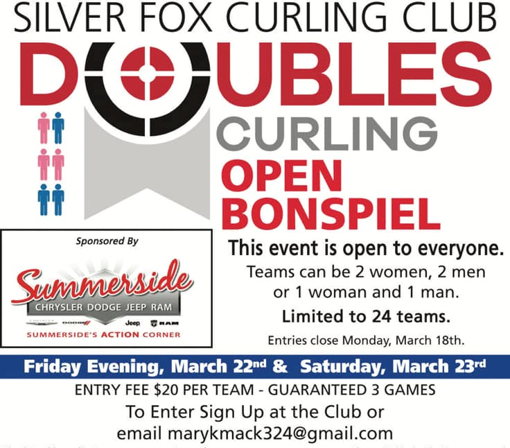 Doubles Curling Bonspiel @ Silver Fox Curling and Yacht Club