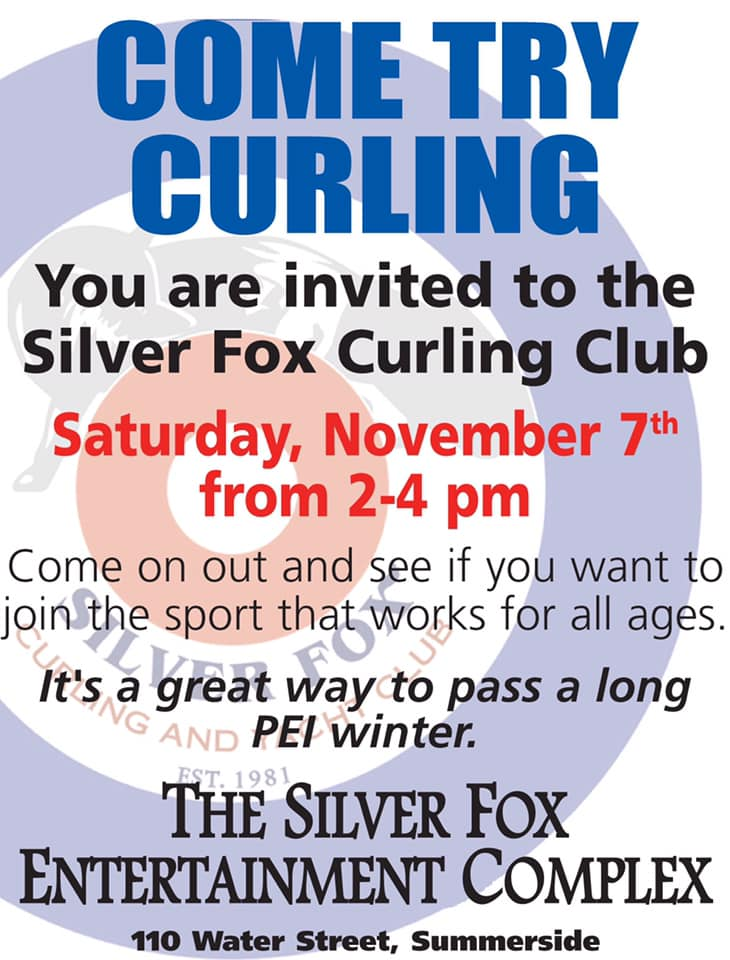 Silver Fox Try Curling Session @ Silver Fox Curling and Yacht Club