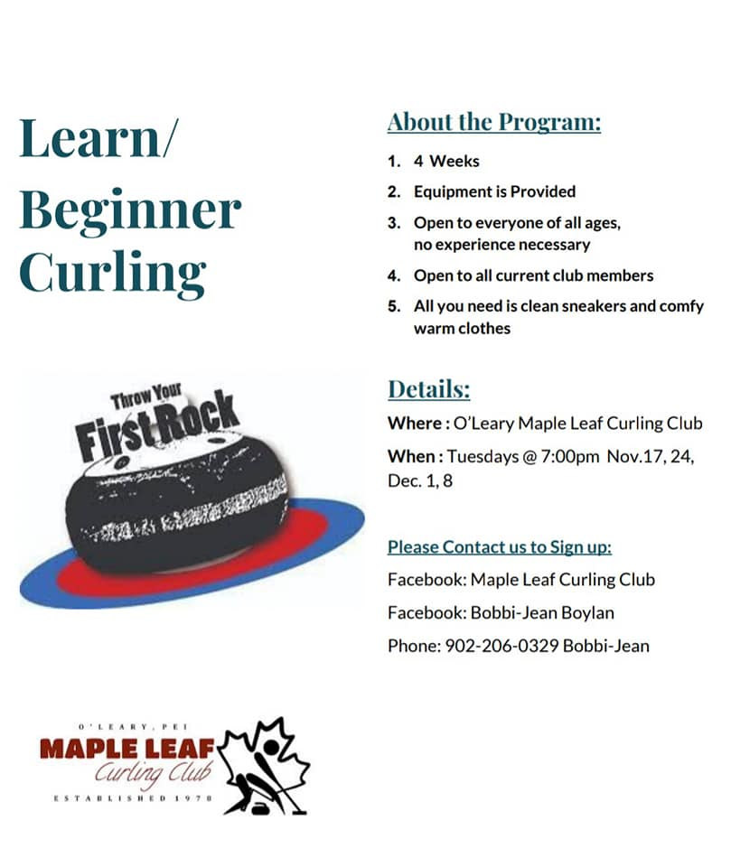 Learn/Beginner Curling Program @ Maple Leaf Curling Club