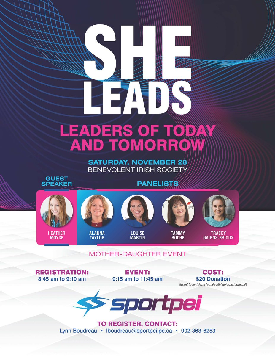 "Leaders of Today and Tomorrow (""She Leads"" event) @ BIS Hall"